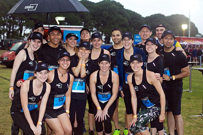 Participants of the 2016 Corporate Challenge in Sydney
