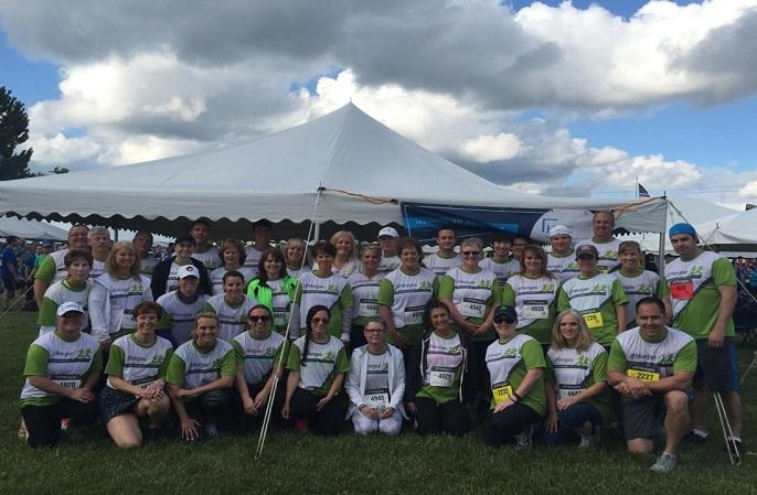 Participants of the JPMorgan Corporate Challenge Syracuse