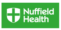 Logo of Event Sponsor, Nuffield Health