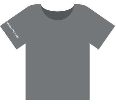 Corporate Challenge Tertiary Logo Front T-shirt